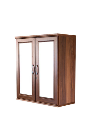 highboy: modern wooden wardrobe
