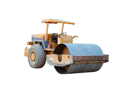 stabilization: old soil compactor