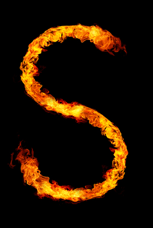 b8b0d4a94585a0 Fire Letter S Stock Photos And Images - 123RF