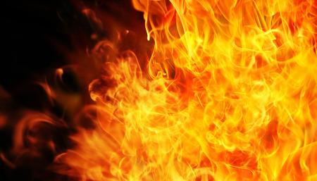 blaze fire flame texture background Foto de archivo - 124349902