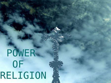 credence: power of religion Stock Photo