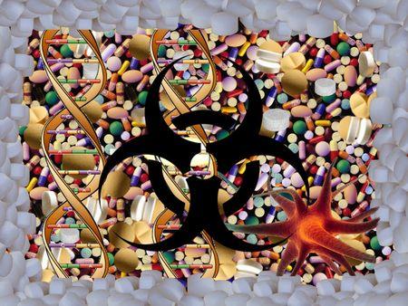 imminence: Tenga cuidado de drogas F� Foto de archivo