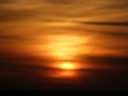emulsion of sunset photo