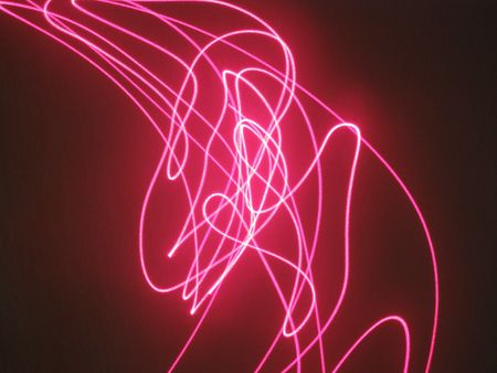 contrastive: laser show effect