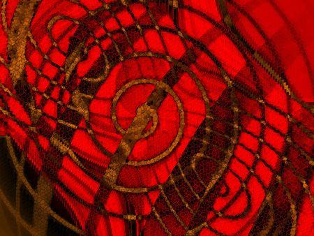 interesting music: red design background Stock Photo
