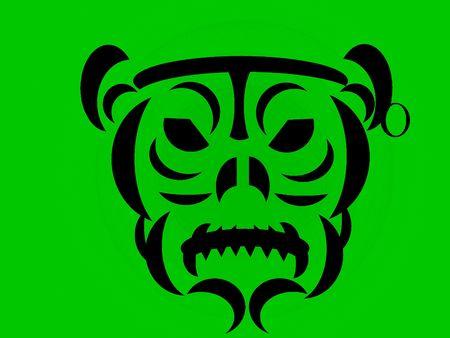 Face design Stock Photo - 5879172