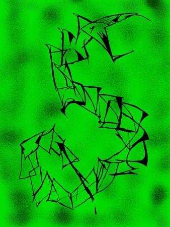 contrastive: Snake illustration Stock Photo