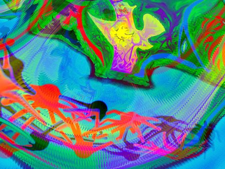interesting music: Crazy colour background