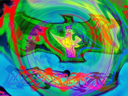 interesting music: Crazy illustration background