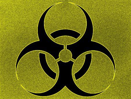 health threat: Biohazard Stock Photo