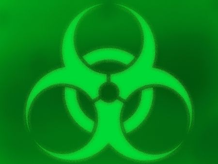extraordinary: Biohazard background Stock Photo
