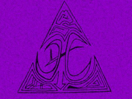 contrastive: Purple ornament