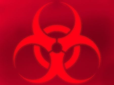 Biohazard background Stock Photo - 5963504