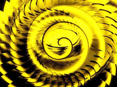 interesting music: Crazy spiral background Stock Photo