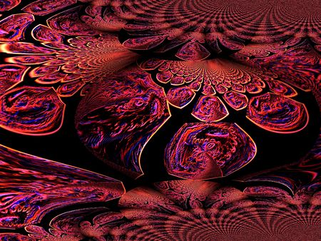 contrastive: Dark line background