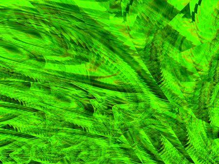 interesting music: green smash background
