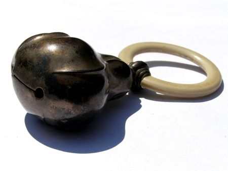 contrastive: metal bell Stock Photo