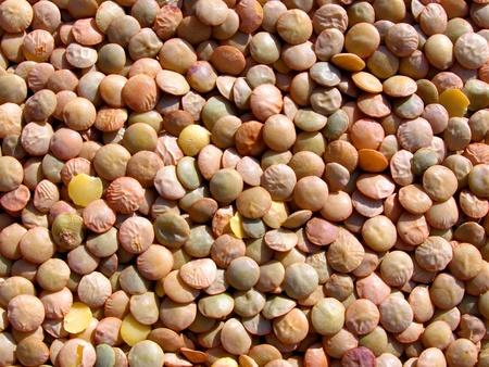 contrastive: lentils texture Stock Photo