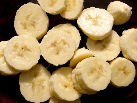 banana slices photo