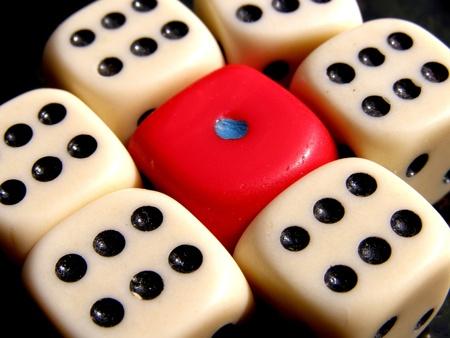 contrastive: dice background