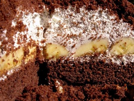 stracciatella: vanilla and banana cake