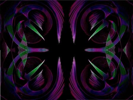 contrastive: color symetric design background