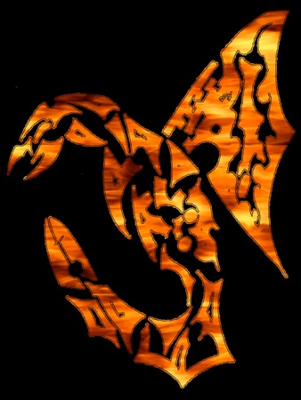 contrastive: mythical fire hydra