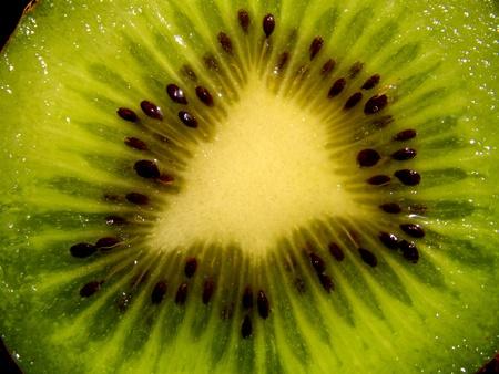 contrastive: kiwi background texture