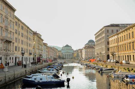 trieste: Trieste canal