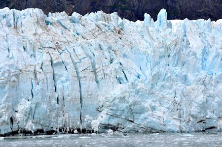 알래스카의 빙하