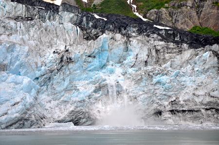 melting glacier in Alaska