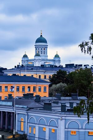 Senatorplatz, Helsinki,Finland Фото со стока