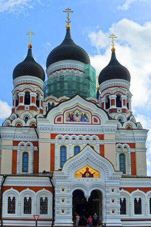 Tallinn.  Alexander Newski Kathedrale, Eastland