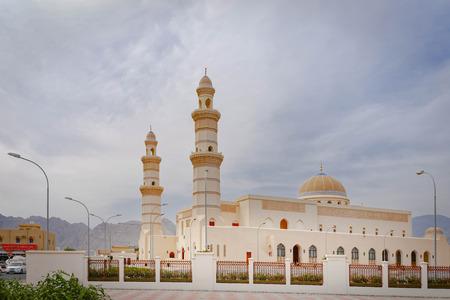 Oman. Zentralmoschee, Khasab