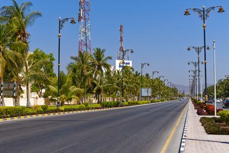 Oman, entrance to the town, Hauptstr. Salalah.