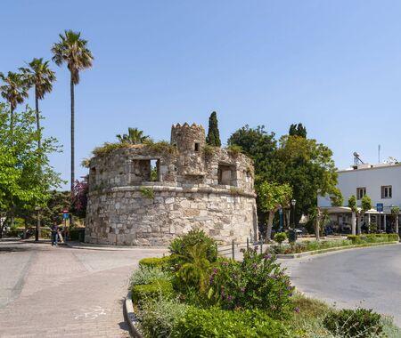 Innenraum der Kos Stadt-Festung, Insel Kos, Dodekanes Inselgruppe, Griechenland 版權商用圖片
