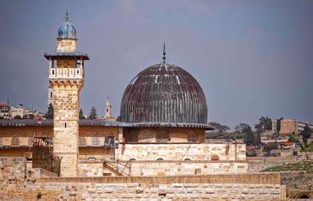 Israel, al-Aqsa mosque. Jerusalem