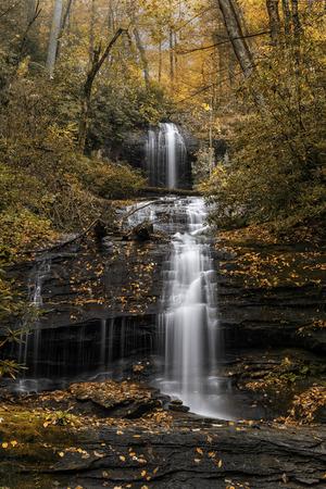 Minnehaha Falls in Autumn