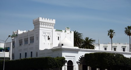 Sidi Bou Said  is in the near of Tunis the capital of Tunesia. This a famous ART village.