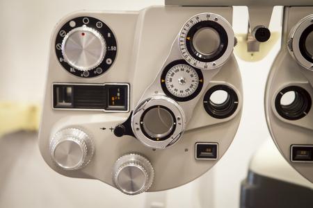 안경점의 측정 도구