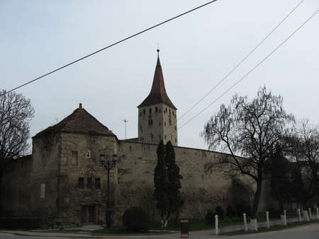 ancient times: Old church in Trasylvania from ancient times, still standing up.