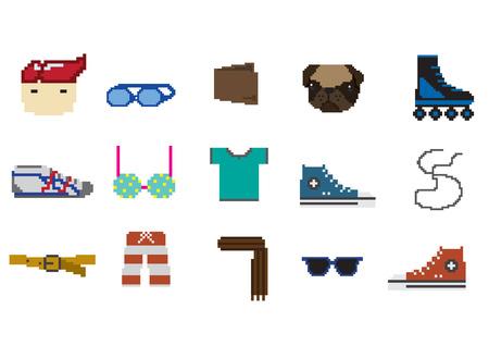 scarf beach: everyday life pixel object
