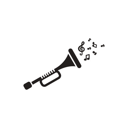 double volume: black vector icon on white background  musical instrument