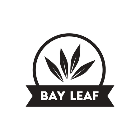 pepper grinder: black vector icon on white background  Kitchenware seasoning bay leaf