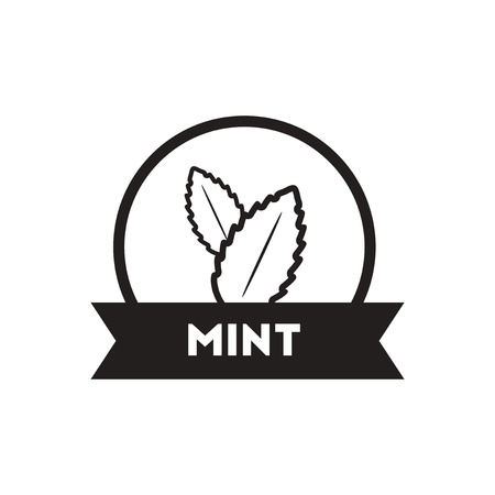 seasoning: black vector icon on white background  Kitchenware seasoning mint