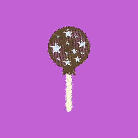 glucose: flat vector icon design collection bonbon candy Illustration