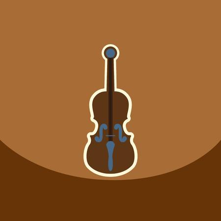 bongos: flat vector icon design collection  musical instrument