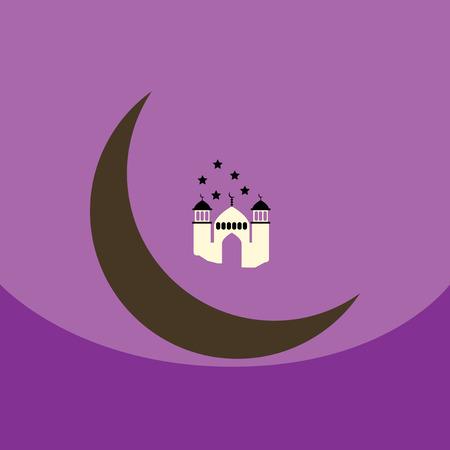 community event: flat vector icon design collection  ramadan festival