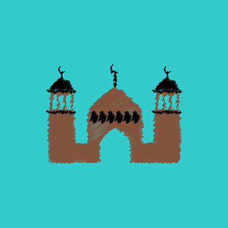 flat icon design collection ramadan festival