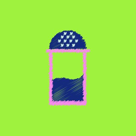 SHAKER: flat icon design collection salt shaker